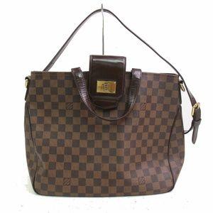 Auth Louis Vuitton Damier Hand Bag #919L55